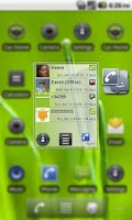 Screenshot of Smart Contacts Widget