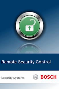 Bosch Remote Security Control- screenshot thumbnail