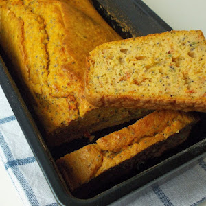 Dried Tomato Bread, Poppy Seeds, And Spices