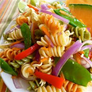 Asian Noodle and Pasta Salad.