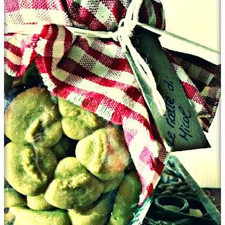 Matcha Tea Cookies.