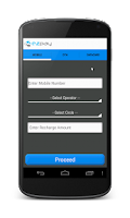 Screenshot of Mobile Recharge/Utility Bills