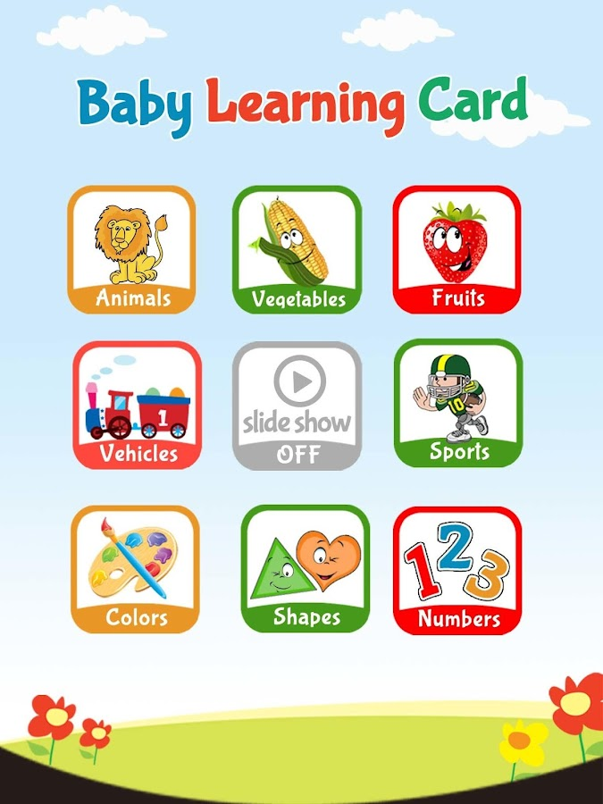 Baby Learning Card- screenshot