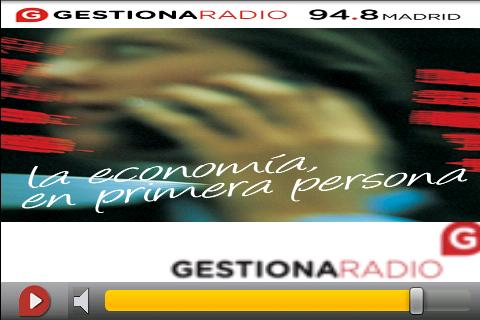 Gestiona Radio- screenshot