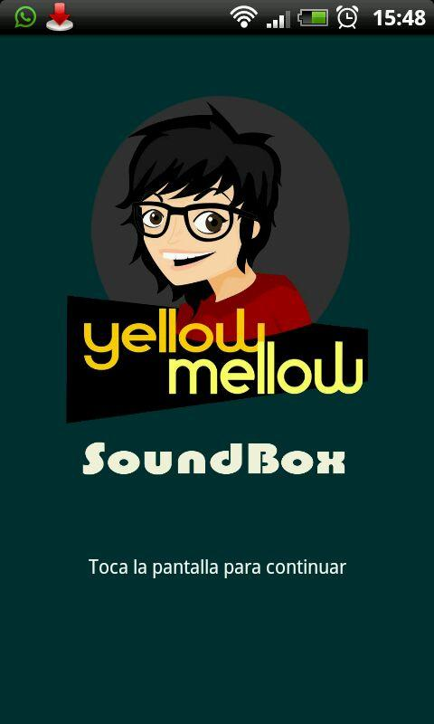 Yellow Mellow Soundbox - screenshot