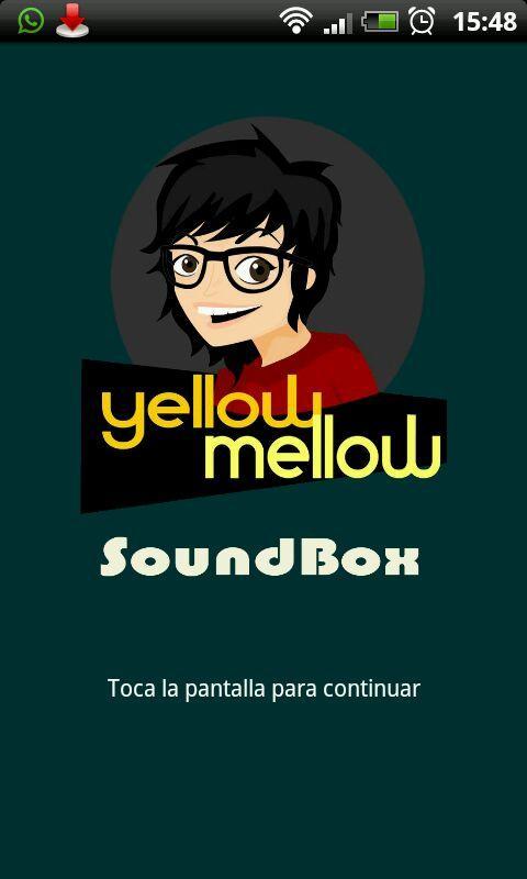 Yellow Mellow Soundbox- screenshot