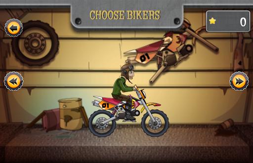 越野山賽車遊戲 越野摩托車遊戲