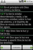 Screenshot of Portuguese Bible