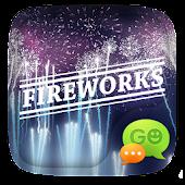 (FREE) GO SMS FIREWORKS THEME