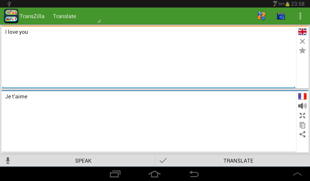 Translator Voice Translate - screenshot