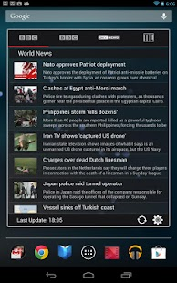 News Widget - screenshot thumbnail