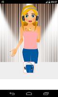 Screenshot of singer dress up games