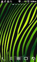 Screenshot of Colorful Zebra Live Wallpaper