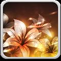 Glowing Flowers Live Wallpaper download