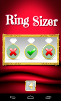 Screenshot of Ring sizer know your ring size