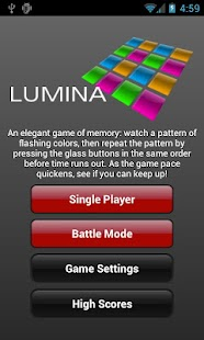 Lumina- screenshot thumbnail
