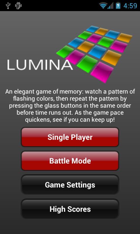 Lumina- screenshot