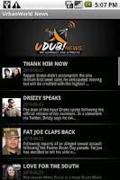 Screenshot of UrbanWorld News
