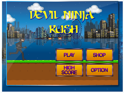 Devil Ninja Rush Game