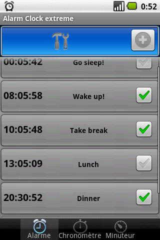 Alarm Clock Extreme And1.5- screenshot