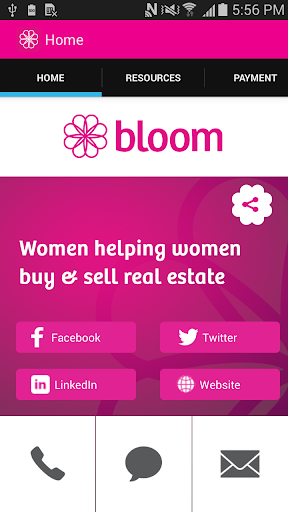 Bloom Women's Networking App