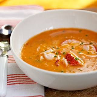 Zuppa di Aragosta (Creamy Lobster Soup).