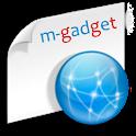 m-gadget logo