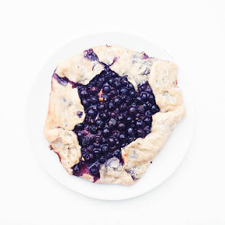 Blueberry Galette Makes Magic Happen.