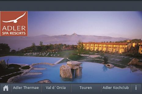 Hotel Adler Thermae Toscana- miniatura screenshot