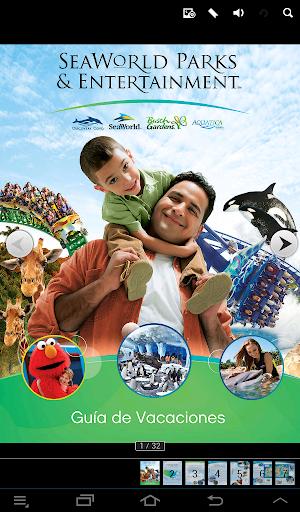 Guía SeaWorld Parks Español