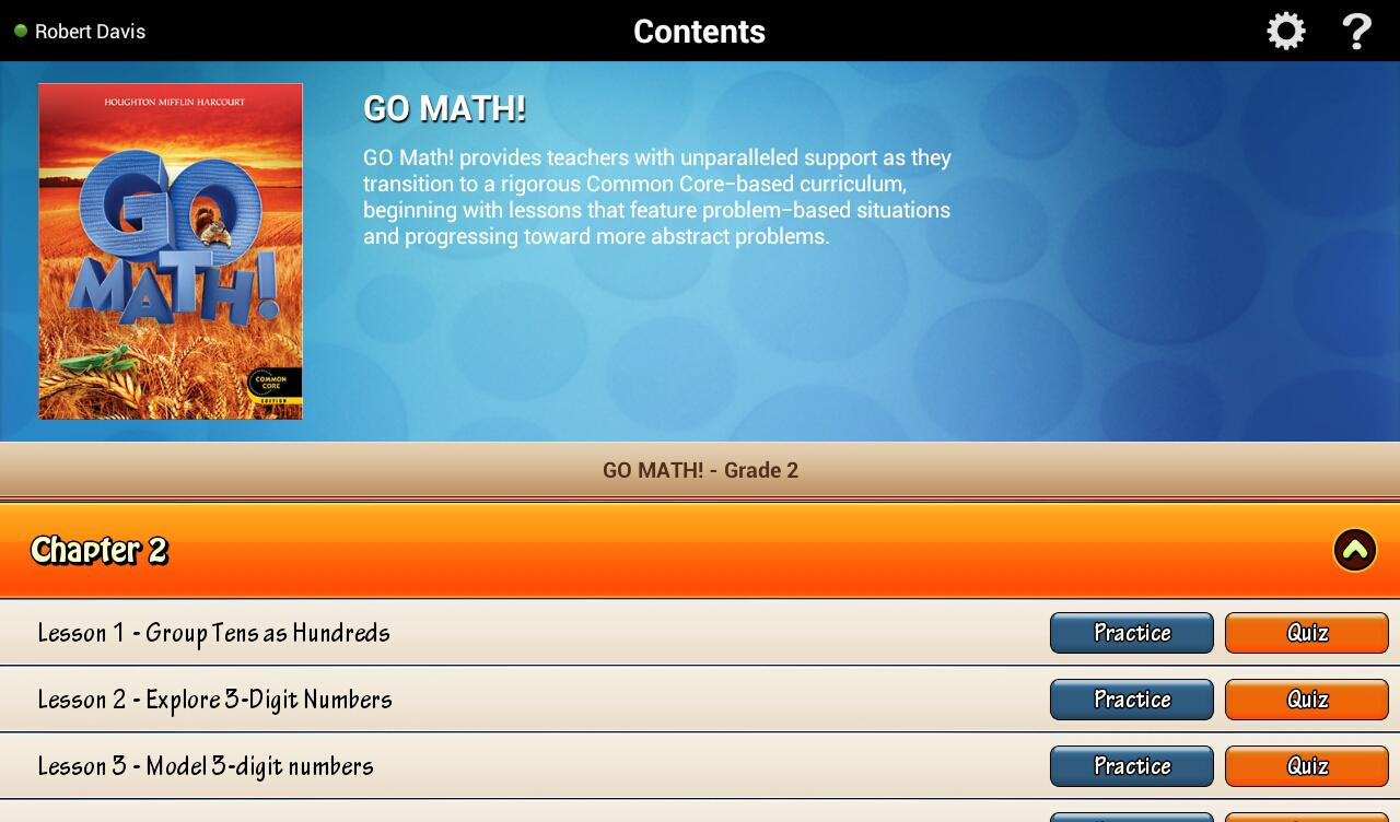 Go Math! Daily Grade 2 - Android Apps on Google Play