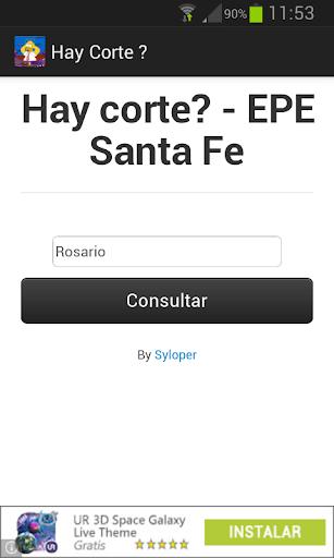 Hay corte de luz EPE Santa Fe
