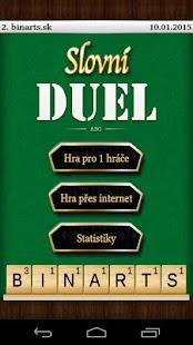 Slovní Duel - screenshot thumbnail