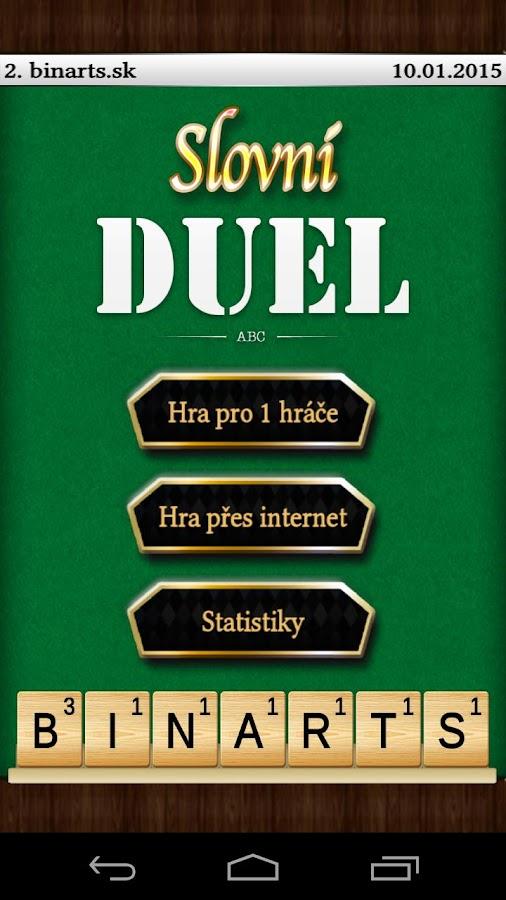 Slovní Duel - screenshot