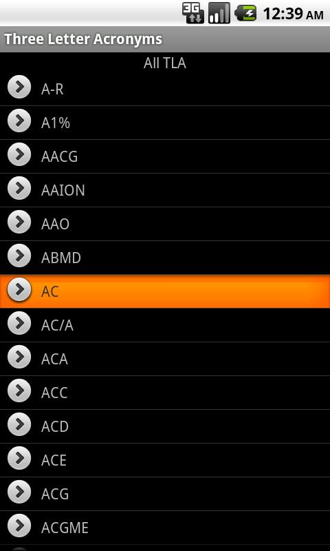 TLA - Ophthalmology- screenshot