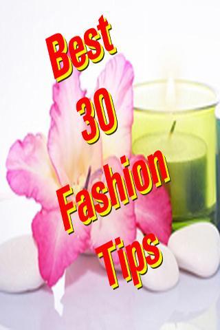 Best 30 Fashion Tips