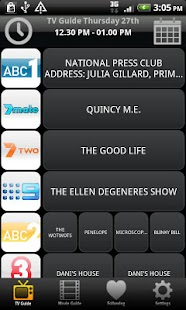 TV & Movie Guide Australia- screenshot thumbnail