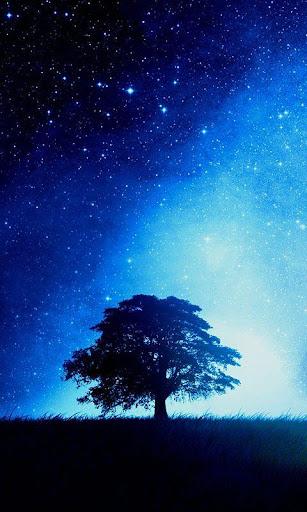 Blue Galaxy S5 Live Wallpaper