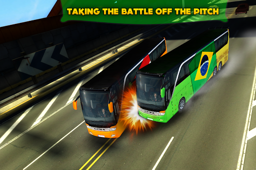 Soccer Team Bus Battle Brazil v1.2.1 APK (Mod Money)