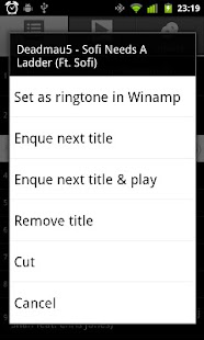Playa Control for Winamp(R) - screenshot thumbnail