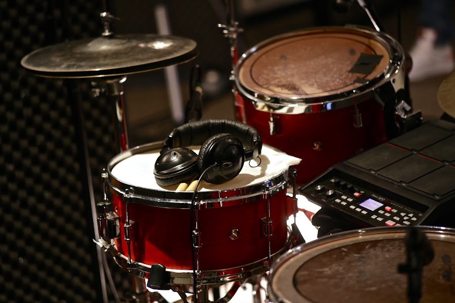Drums by Garrett Parker - Artistic Objects Musical Instruments