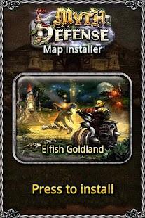 MD map: Elfish Goldland