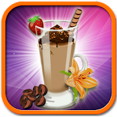 Ice coffee maker– Cooking game