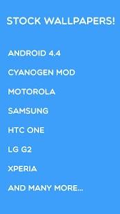 stock android L moto wallpaper