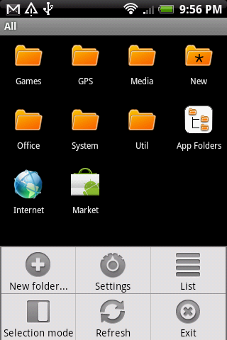 App Folders - screenshot