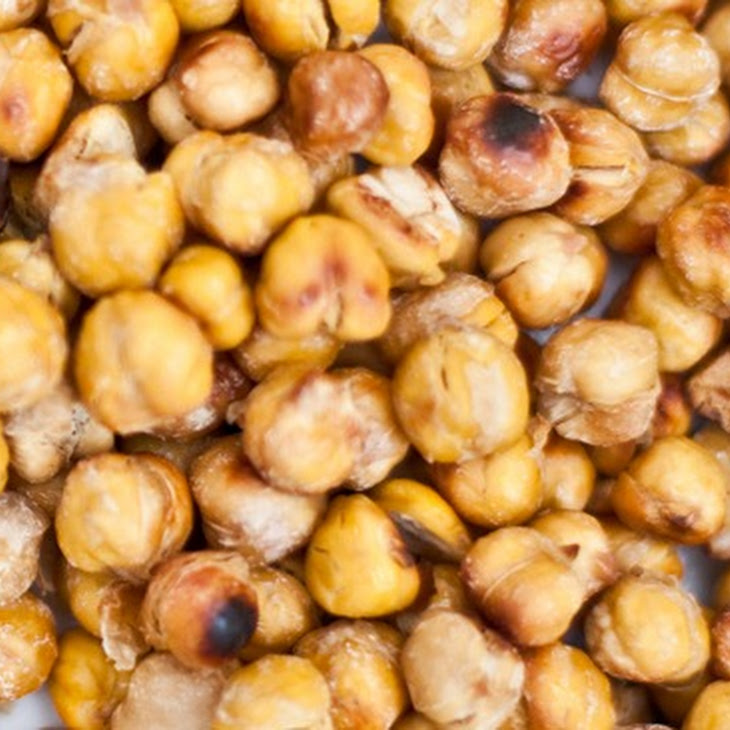 Easy Salt & Vinegar Roasted Chick Peas Recipe