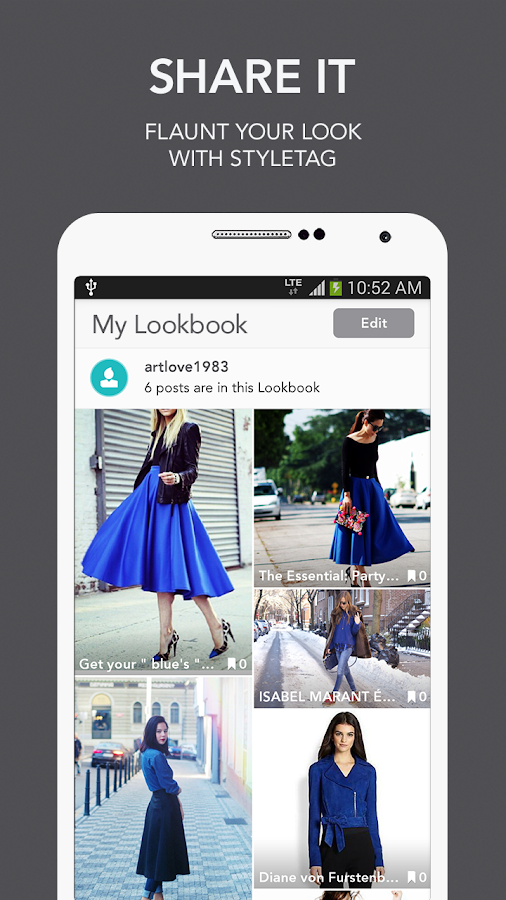 Styletag - Shop the looks!! - screenshot