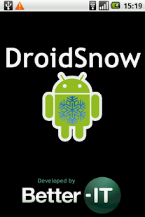 DroidSnow - screenshot thumbnail