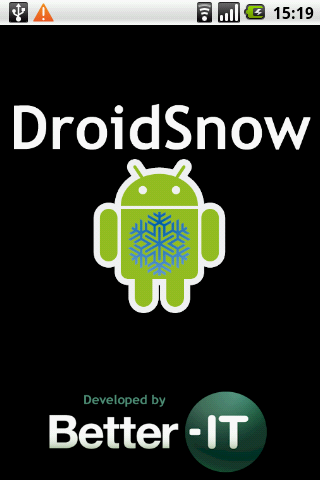 DroidSnow - screenshot