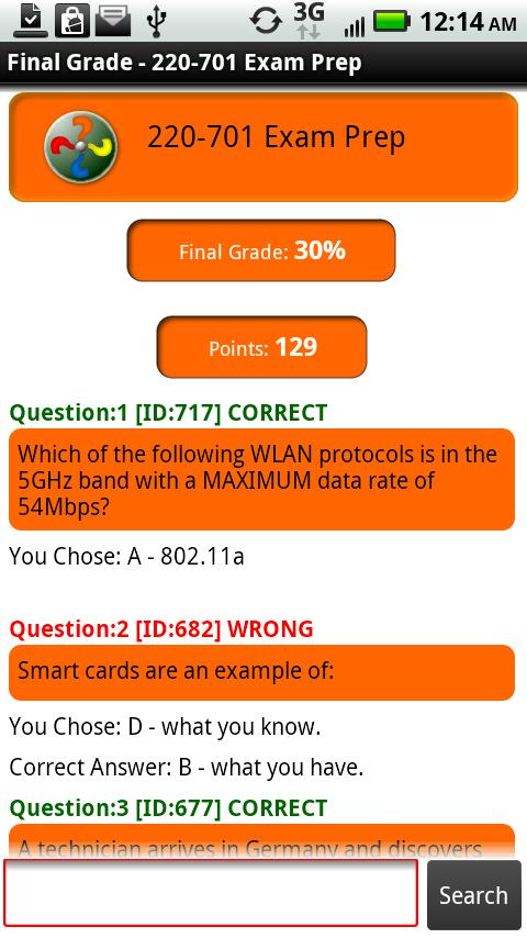 220-701 Exam Preparation - screenshot